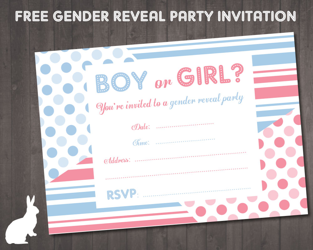 It's just a picture of Old Fashioned Printable Gender Reveal Invitations