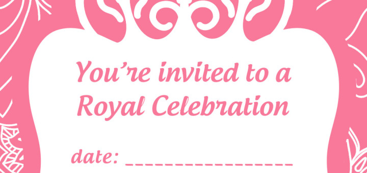 free princess party invitation