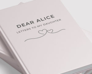 Personalised Letters To My Daughter Notebook